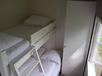De kamer met stapelbed